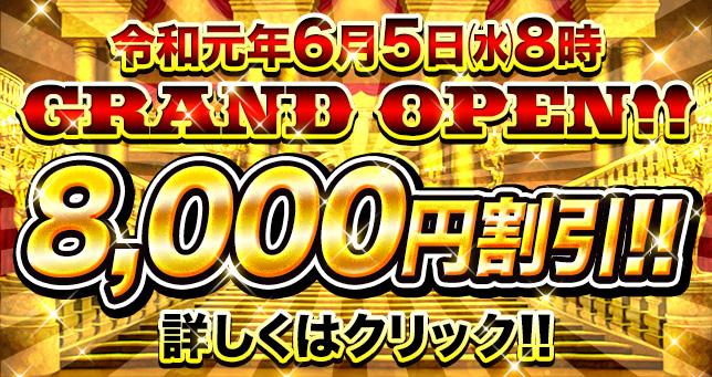 王国8000円割引